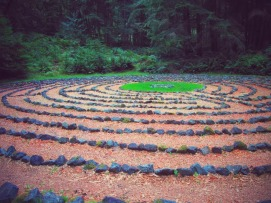 Whidbey Institute Labyrinth
