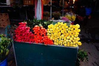 Morning flower market