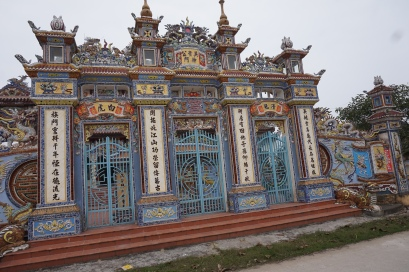 Temple along the country road