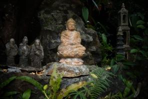 Inside Từ Hiếu Pagoda - Hue, Vietnam
