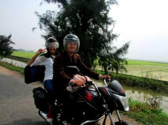 (Photo credit: Karen Mork) Riding through the country side - Hue, Vietnam